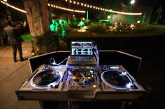 All White Technics 1200 set up DJAL805