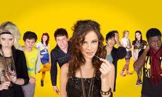 Skins, a notorious british TV series