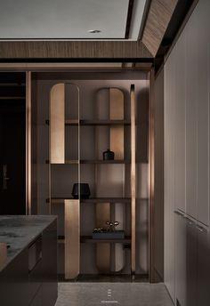 Shelving Design, Shelf Design, Cabinet Design, Wall Design, Home Interior Design, Interior Architecture, Interior Decorating, Loft Design, Modern Design