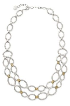 Dress to impress with the stylish Marnie Link gold & silver chain necklace from Stella & Dot.  Find fashion necklaces, trendy necklaces, pendants & more