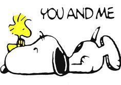 Snoopy loves Woodstock