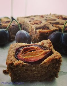 Diós szilvás süti – Pálmafa Project Poppy Cake, Banana Bread, Muffin, Sweets, Breakfast, Recipes, Paleo Fitness, Dios, Morning Coffee