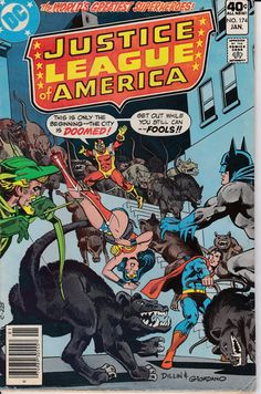 Justice League of America 1960 1st Series 174 by ViewObscura, $1.00