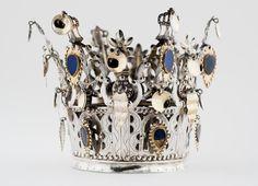 Sølvskatten | KODE Bridal Crown, Crowns, Norway, Knitting, Wedding, Jewelry, Casamento, Jewlery, Tricot