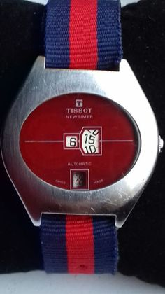 Currently at the #Catawiki auctions: Tissot - NewTimer Jump Hour - Men - 1970-1979
