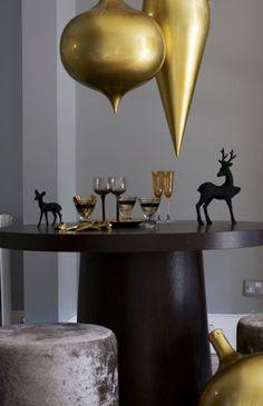 livingetc magz modern christmas gold black gray