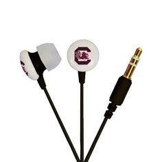 AudioSpice Ignite In-Ear Headphones - University of South Carolina Gamecocks