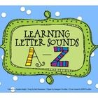 """Great """"visual"""" to accompany Jack Hartmann's song """"Learning Letter Sounds.""""  Can be used whole-class and/or in the listening center where students can advance through the slides independently.  $2.00"""