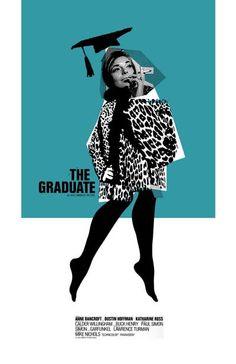 The Graduate 11x17 inch poster by TheArtOfAdamJuresko on Etsy