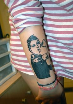 Rosie the Riveter tattoo belonging to Hannah!