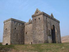 Hermitage Castle by ElizabethMcD1, via Flickr
