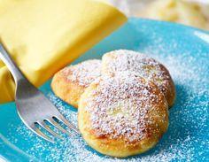 Diese #Kartoffellaibchen mit Topfen schmecken besonders den kleinen Schleckermäuler. Dieses Rezept stammt aus Omas Kochbuch.