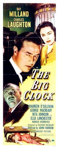 The Big Clock Premiered 9 April 1948
