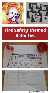 {Read.Explore.Learn.} Fire Safety Themed Activities