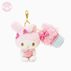 Sweetest My Melody keyfob ♪( ´▽`)