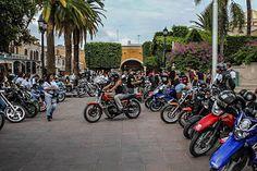 LA UNIÓN DE MOTOCICLISTAS DE AGUASCALIENTES (UMA) FESTEJÓ EN CALVILLO SU SEGUNDO ANIVERSARIO