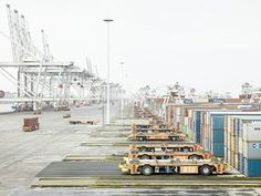 Containerterminals, Port of Rotterdam, Netherlands - Dead zones of hypercapitalism In China, Paris Skyline, New York Skyline, The Dead Zone, World Trade, Nature Reserve, San Francisco Skyline, Landscape Photography, Spain