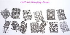 Nail Art Stamping Mania: Acrylic Stamping Plates from Cici&Sisi - Swatches and Review