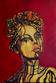 ~Athene~ Ölgemälde Gesicht  Über was die Schöne wohl nachdenkt?   #Portrait #Portrait zeichen #Ölmalerei #Ölmalerei Portrait #Leinwand #Gesicht