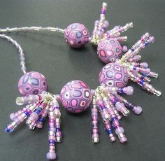 Urchin by Pips Jewellery Creation, via Flickr