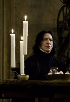 Alan's voiced helped define characters like Severus Snape                                                                                                                                                      More