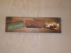 Barnwood Vintage Sign Vintage License Plate by SouthernBarnDesigns, $59.00