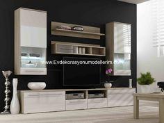 Modern TV Üniteleri ve Modelleri