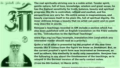 Quite a lot of what is presented by the prophet of the new time sounds like it comes from the figure we know as Jmmanuel. But, as the current prophet's spirit form was incarnated as Jmmanuel, as well as others, this similarity is really only reasonable. Semjase has the following to say about the timelessness of the teachings, as is relayed in the German version of the early contact notes.  (From the 9th Contact, 21 March 1975)
