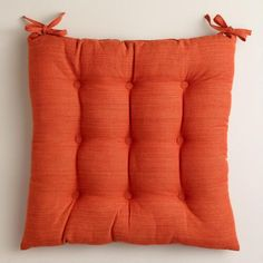 One of my favorite discoveries at WorldMarket.com: Spice Khadi Chair Cushion