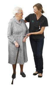 mujer mayor y joven