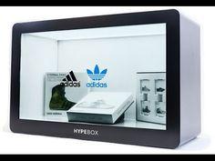 Hypebox - transparent video display dan showcase - YouTube