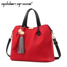 2017 Women One Shoulder Soft Leather Handbag Large Capacity Handbag Brief Women Big Cross-Body Bags
