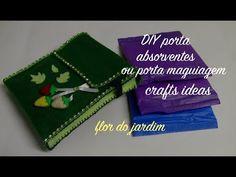 Porta absorventes de feltro -Sanitary Napkin Pouch- bag - YouTube