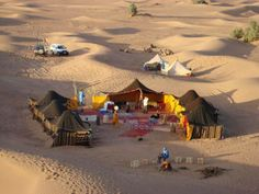Temperature in the desert in #Morocco is a bit better. Spend a night in the camp!