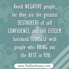 Negative People insult and criticize and bring you down