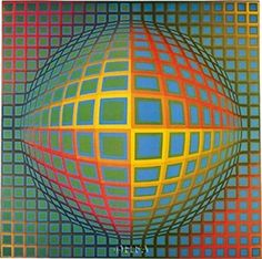 Artist: Victor Vasarely Completion Date: 1969 Style: Op Art Genre: abstract painting Technique: acrylic Material: canvas Dimensions: 200 x 200 cm Victor Vasarely, Mc Escher, Reiki Angelico, Art Gallery, Illusion Art, Exhibition Poster, Art Graphique, Zentangle, Psychedelic Art