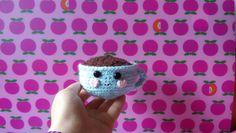 In case you miss your morning cofee. Cute wool cofee mug. Handmade with love❤