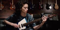 St. Vincent Designed a Guitar for Women with 'Room for a Breast. Or Two.'