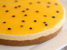 Torta de Maracujá ~ PANELATERAPIA - Blog de Culinária, Gastronomia e Receitas