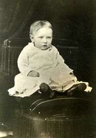 Grace Ingalls at the age of 2