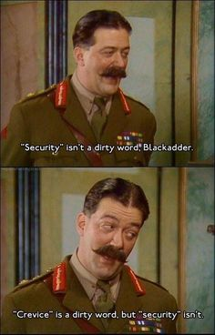 Lessons in Leadership by Military Genius General Melchett General Melchett combines his university experience, knowledge of rugby and even flower arranging to display some unique leadership skills in Blackadder. British Comedy Series, British Tv Comedies, British Actors, Comedy Quotes, Comedy Tv, Comedy Cartoon, Cartoon Characters, Welsh, Blackadder Quotes