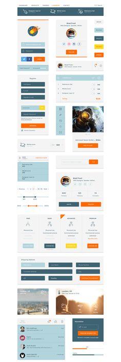 Designer-naut UI Kit. It is free!