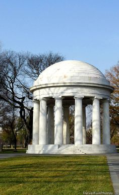 The World War One Memorial in Washington DC - USA
