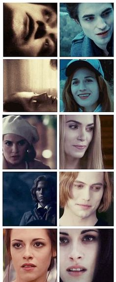 From Twilight to Breaking Dawn part 2... transformations