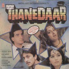 Thanedaar 1990 Bollywood Vinyl LP