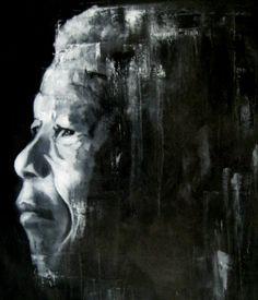 Mandela - oil on canvas - 80 x 100