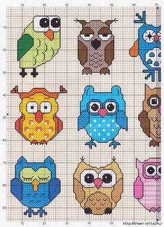 Uiltjes - deel 1 | Owls - part 1