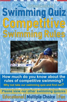 How much do you know about the rules of competitive swimming? Why not take our swimming quiz and find out? Please view our other swimming quizzes. Please see link in my bio. Swimming Rules, Swimming Gear, Olympic Badminton, Olympic Games Sports, Sport Gymnastics, Olympic Gymnastics, Teach Kids To Swim, Swimmer Girl Problems, Swimming Equipment