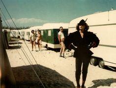 Photo by Helmut Newton. St. Tropez,1978.