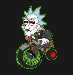 Rick and Morty x Jigsaw